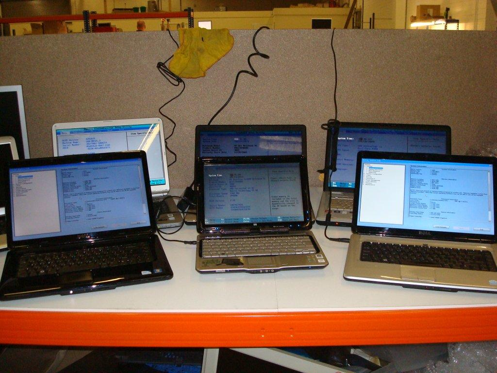 Refurbished Laptops from Stock Sourcing