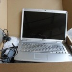 Boxed used laptop