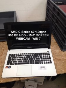 53 x Windows 7 Wholesale Laptops -201/13/4
